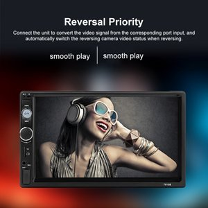 "Universal 2 din Car Radio Multimedia Player Auto Bluetooth Multimedia Player Autoradio 7"" MP5 Stereo Touchscreen Car"