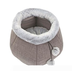 A Pets Mat Soft Four Seasons Apply Dog Blanket Round Comfortable Puppy Nest Plush Cat Sleeping Bed New Cute Dog Cat Bed Cushion