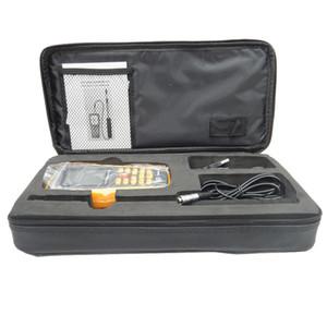 Freeshipping Anémomètre numérique à fil chaud GM8903 Vitesse du vent / débit d'air / thermomètre mesurant 0 ~ 30 m / s avec interface USB