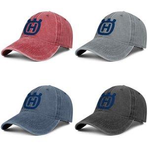 Husqvarna Group H Logo Unisex denim baseball cap cool team trendy hats Motorcycle logo lawn tractors for sale