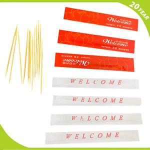 precio de palillo de bambú de bienvenida personalizado Hotel hotel especial desechable cepillo interdental de bambú cepillo de dientes diámetro 2.0mm