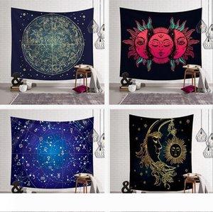 18 Designs 150*130cm Tapestries Bohemian Mandala Beach Tapestry Hippie Throw Yoga Mat Towel Elephant Peacock Beach Shawl