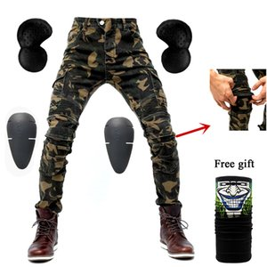 Motorcycle jeans 2020 new Camouflage UBS-06 jeans men protection equipment moto pants UBS-06 racing