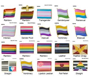 Gurur Rozet Biseksüel Panseksüel Broş Lezbiyen Pride Pim Bayrağı LGBTQ Gay Bayrağı Yaka Pin