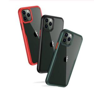 충격 방지 시리즈 아이폰 (11) 프로 케이스, [군사 등급 하락은 테스트] [2 세대] 아이폰 (11) 프로 맥스 반투명 매트 케이스 소프트 가장자리와