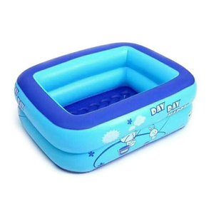 Kids Inflatable Swimming Pool High Quality Children's Home Use Paddling Pools Large Size Inflatable Square Swim Pool For Baby