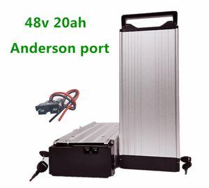 48V 21AH 1500W Rack Luggage Ebike battery for Electric Bicycle Ebike Electric bike Free shipping USA EU 1000W no tax from China stock