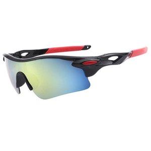 Coloré vélo coupe-vent de lunettes de sport veste de vol polarisée mode de lunettes d'équitation en plein air lunettes de soleil lot mixte de fourmi