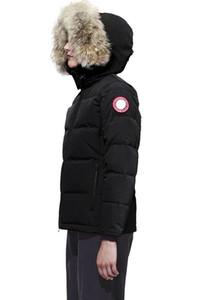 Fransa Lüks Kış Coat Kadınlar İnce Dış Giyim% 90 Beyaz Kaz Tüyü Mont Yaka Casual Slim Parkas Katı Ceket çevrimiçi BM888 Standı