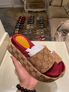 Gucci slippers 2020 neue Art Frauen 573.018 klassische Art und Weise Progettista Damen Rote Erdbeere farbige Flip-Sandale Dia-Flops Belieben Top-Marken Xshfbcl c29