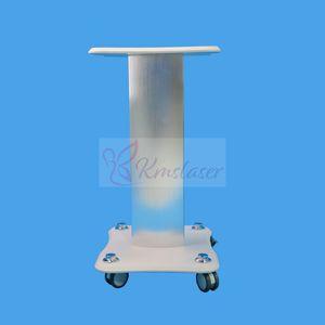 Beauty Spa Ferro maniglia del basamento assemblato Ferro Trolley Roller Carrello Per cavitazione dimagrante Lipo macchina laser Supporto per display