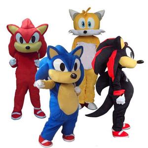 2019 2018 Горячие продажи Sonic And Miles Tails Костюм Талисмана Необычные Платья Карнавальный Костюм
