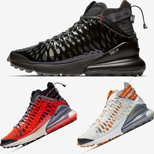 Novas 270S Preto Antracite Ispa SP SOE Venom malha meados Homens Running Shoes Terra Laranja Almofada Designer Branca Fantasma Mens Sports Sneakers 7-12