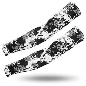 Sun Protection Arm Sleeves Camouflage Sunscreen Ice Silk Sleeve 24 Colors Outdoor Riding Fishing Camo Arm Sleeve LJJO7941
