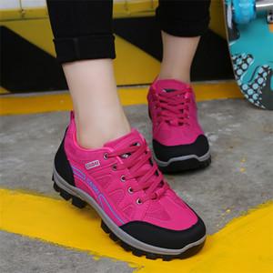 Pies de Gato mujeres zapatillas de deporte de viajes a Mountain antideslizante resistente al desgaste viajes atletismo calzado profesional Senderismo ShoesPT