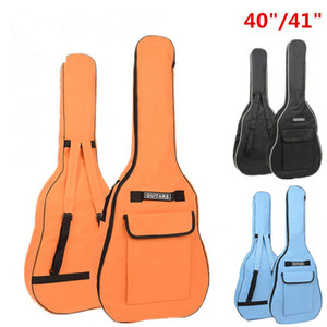 Straps Padded Shoulder Fabric 40 41 Guitar Backpack Tool Gig Bag Soft Guitar Double Packaging Inch Acoustic Case Waterproof Oxford Adtkg