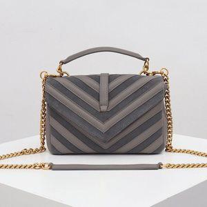 Klasik V desen kadın çanta çanta Tote Hanımın zincir crossbody çanta messenger çanta büyük kapasiteli Sokak eser omuz çantaları ek bileşeni