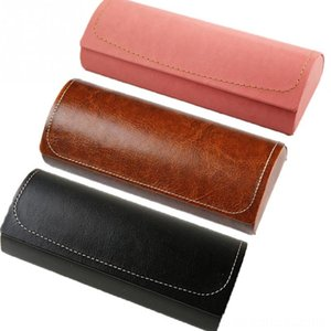 Hot Leather Glasses Case For men Waterproof Hard Frame Eyeglass Case Women Other Fashion Accessories Reading Glasses Box Multicolor Spectac