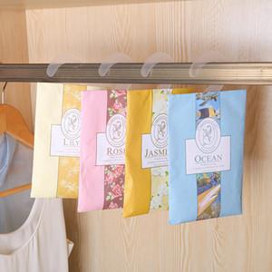10pcs Anti-Pest Анти-Плесень Висячего Аромат душистых саше для шкафа Шкаф воздуха автомобиля освежающих Ароматы Ароматерапия сумка