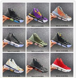 2019 Новые LB 16 Mens Basketball обувь J 16 Brand Мода спорта кроссовки высокого качества Комфортные Low Cut Кроссовки Обувь Размер 40-46