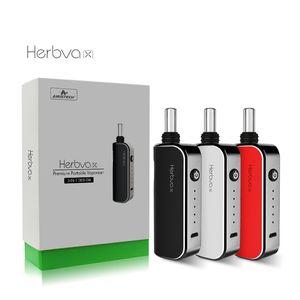 왁스 오이 온도 제어 세라믹 상공 회의소 전자 담배 정통을위한 원본 Airistech Herbva X 3IN1 AIRIS 드라이 허브 기화기