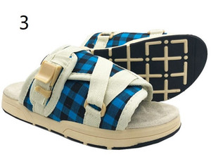 2020 estate Visvim pantofole per gli uomini donne amanti dei pattini casuali della spiaggia dei pistoni dei sandali esterni hip-hop via Sandali Q-580