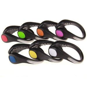Faydalı Açık Aracı Led Işıklı Ayakkabı Klip Işık Gece Güvenlik Uyarı Led Bisiklet Koşu Için Parlak Flaş Işık Led 1 Adet satış