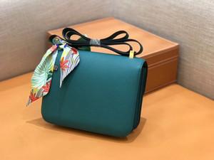 Дизайнер-Luxury сумки Constance кошелек сумка Сумка Материал Пригнан из Германии Top Epsom телячьей кожи всей ручной работы