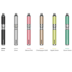 Newest Colors Authentic Yocan Evolve Starter Kit 650mAh Battery Dry Herb Vapor Wax Vaporizer Vape Pen For Evolve Plus Coil 100% Original