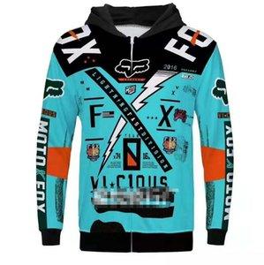FOX 2020 traje de carreras de motos, suéter motocicleta que monta, traje de montar, ropa a prueba de caídas, cuesta abajo ropa deportiva, jersey de lana, cuesta abajo