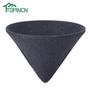 Coffee Filter Alumina Ore Cone Shape Non-porous Coffee Filter Kitchen Gadget Reusable Handmade Coffee Filter