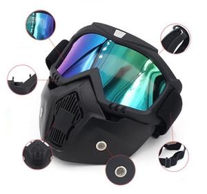 Bicicleta mayor-Lentes de Motociclismo Gafas de snowboard del esquí de motos de nieve Gafas de máscara a prueba de viento de la nieve de invierno de esquí Gafas de sol de motocross