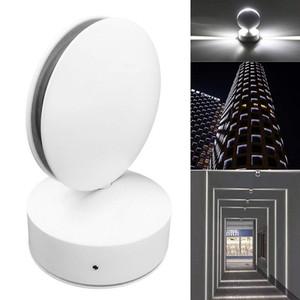 프로젝트 건물 야외 벽 램프 벽 조명 표면 장착 방수 벽 램프 창 라이너 빛 360 학위 AC 85-265V
