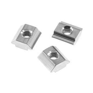Pièces Imprimante 3D Accessoires 20pcs / lot 2020 3 4 M5 M6 T bloc carré noix T-Track coulissante Marteau Nut pour profilés d'aluminium Fastener