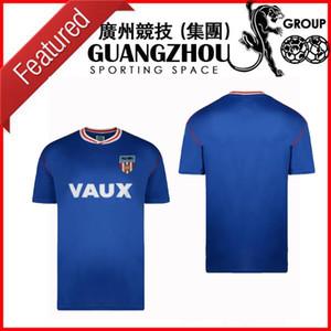 1990 Sunderland retro camiseta de fútbol de distancia 90 91 Sunderland Michael Gray Eric Gates camisas clásicas de fútbol de la vendimia superior de Tailandia
