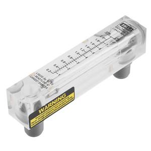 0.2-2GPM / 1-7LPM Type de panneau de verre liquide Flowmetre débit d'eau de mesure en gros compteur