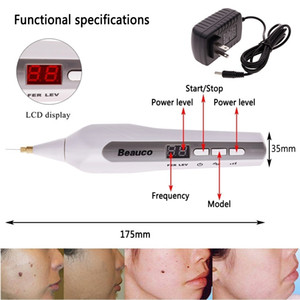 Fibroblast Plasma Pen Eyelid Lift التجاعيد بقعة الوشم الخلد إزالة النمش شد الوجه الجلد