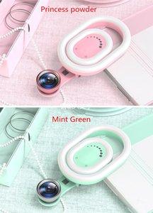 휴대 전화 충전 라이트 플래시 앵커 라이브 얼굴 얇은 얼굴 회춘 아름다움 유물 광각 매크로 셀프 타이머 렌즈