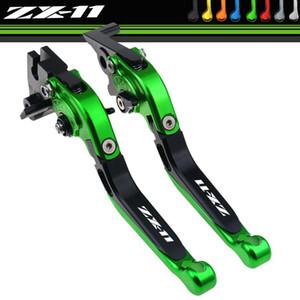 Para ZX1100 / ZX11 1990-2001 ajustable plegable extendido freno palancas de embrague Manillar accesorios de la motocicleta
