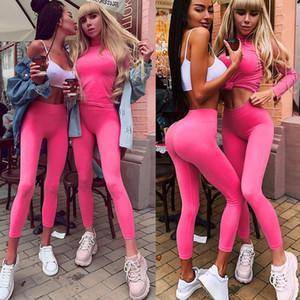 Gym Yoga Pants Sports Wear Women Autumn New Tummy Control High Waist Leggins Sport Stretch Fitness Seamless Leggings Sportswear