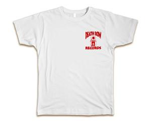 Death Row Özel Tişört Tee Yeni Sz S - 3xl - Beyaz Kırmızı