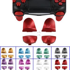 8 Farben Metall Aluminium L1 R1 L2 R2 Auslösetasten für PS4-Controller JDS001 JDM011 Aluminium-Taste mit Federn Hohe Qualität SCHNELLES SCHIFF
