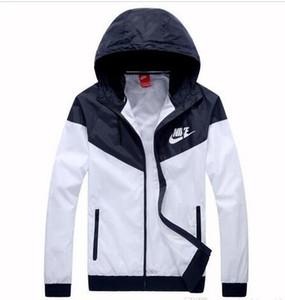 F1 quente venda Queda fina Windrunner Homens Mulheres sportswear alta qualidade impermeável tecido Men esportes jaqueta Moda zipper Hoodie plus size 3XL