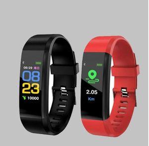 HOT gros ID115 plus Smart Bracelet Fitness Tracker Étape Compteur Activité Moniteur Activité Moniteur de Fréquence Cardiaque Moniteur de Pression Artérielle Bracelet