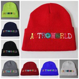 Açık Beanies Nakış Kol Kafa Örgü Şapka Hip Hop Yün Şapka 8 Renkler Sıcak Cap ZZA930 tutun