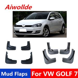 Mud Flaps carro para Volkswagen Golf 6 golf 7 2009-2017 Mudflaps respingo Guardas da aleta da lama dianteiro traseiro Pára-lamas Fender