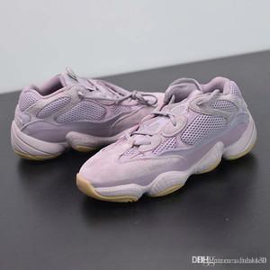 2020 Wave Runner 500 Soft Vision Фиолетовые Кроссовки Kanye West Wave Runner Дизайнерские Мужские Женские Кроссовки Спортивная Обувь