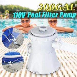 110 -240V 330 GPH Swimming Pool Filter Pump For 100-350GAL Pools for summer Swimming Pools outdoor Sports dropship 2020