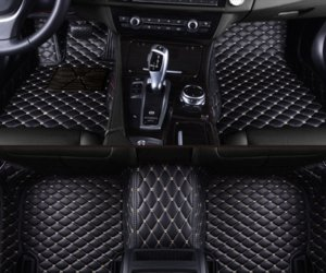 Fit Honda Civic 2017 ~ 2021 Araç Paspaslar FloorLiner Halı Tüm Hava Mat İçin