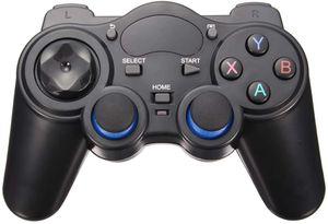 USB Wireless Gaming Controller Gamepad для ПК / портативный компьютер (Windows XP / 7/8/10) PS3 Android пары (черный)